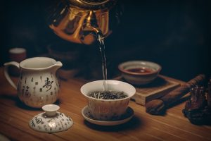 Black tea is a source of flavonoids.